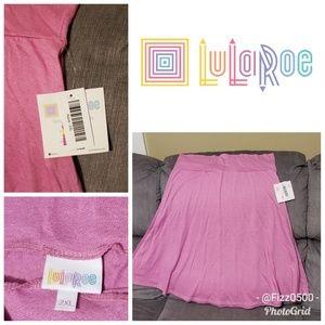 NWT Lularoe plus size azure skirt